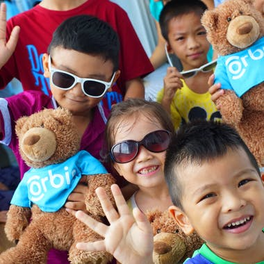 1 1 Celebrate Home Replace Asian Crowd Orbis Volunteers