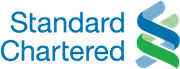 Standard Chartered Bank logo.