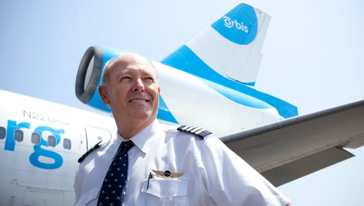 Captain Gary Dyson - Chief Orbis Pilot, USA