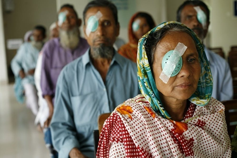Fighting blindness caused by diabetes in Bangladesh