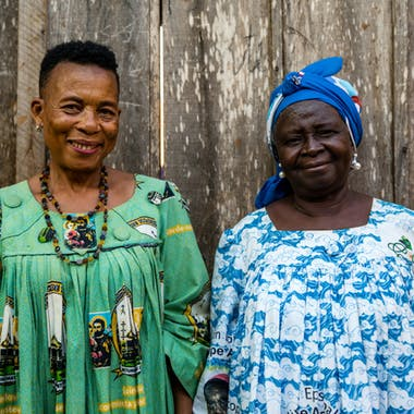 Honorine And Mama Anne
