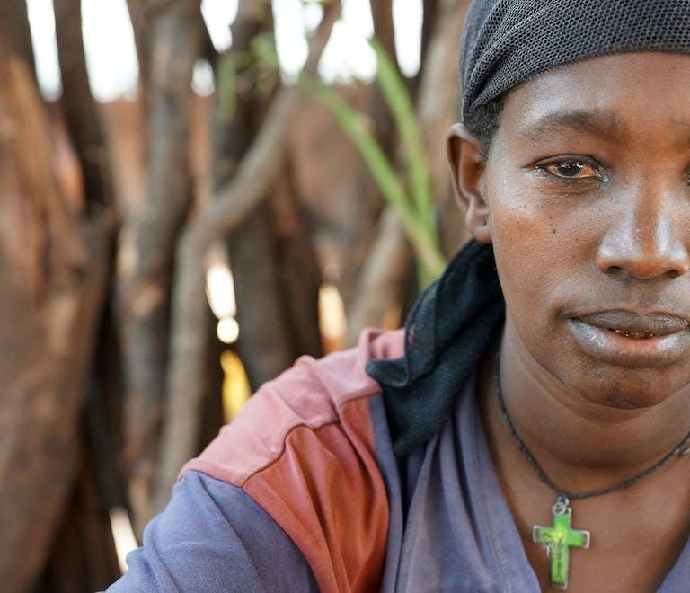Cataract patient Aylito, Ethiopia