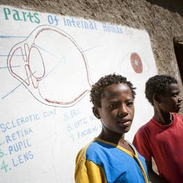 Ethiopian school children.