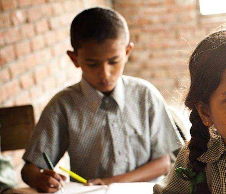 School children at Laxman Ganj Village School in Nepal