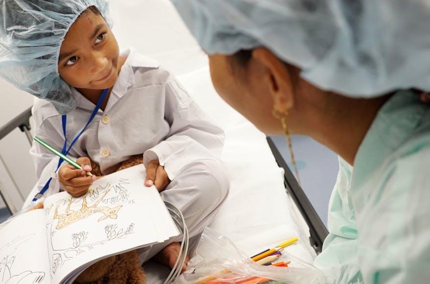Vietnamese paediatric patient Dieu