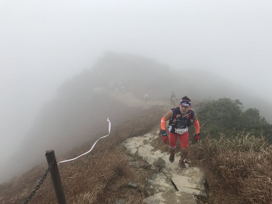 Stephen Pau is training for 100 mile Patagonia run