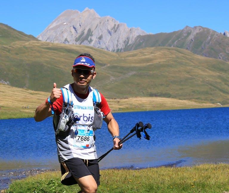 Stephen Pau running