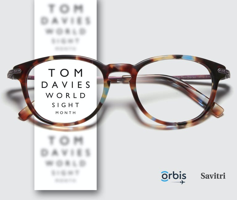 World Sight Month Tom Davies offer