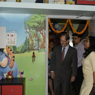 Tour of the child-friendly center