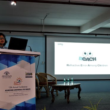 Prachi Agarwal, Senior Program Manager presented on the REACH program