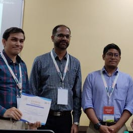 Sheeladevi Sethu, Technical Advisor received the Best Paper award for 'Childhood Cataract in India-Present Status And Recommendations'