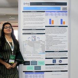 Smridhi Singh, Program Officer presented on 'Gender Inclusive Eye Care''