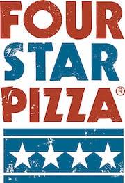 Four Star Pizza logo.