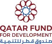 Qatar Fund for Development logo.