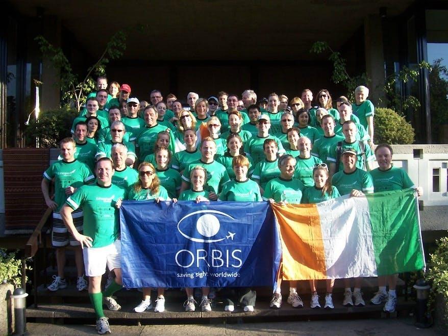 Orbis Ireland take part in the Great Ethiopian Run 2008.