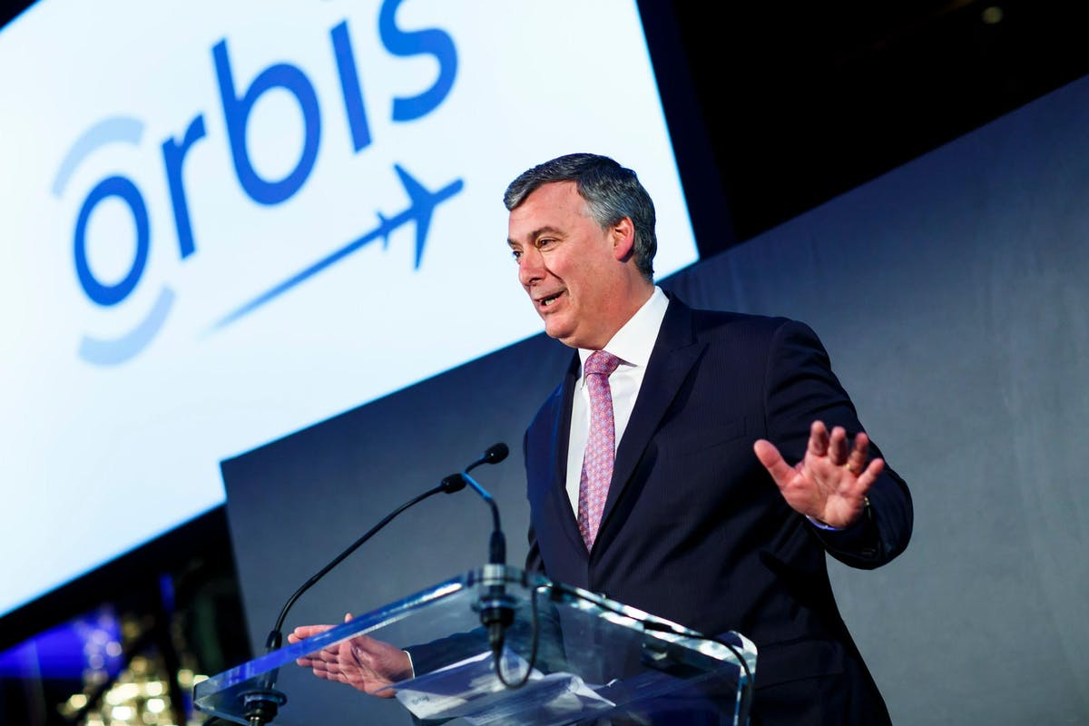 Orbis International Chairman, Kevin McAllister