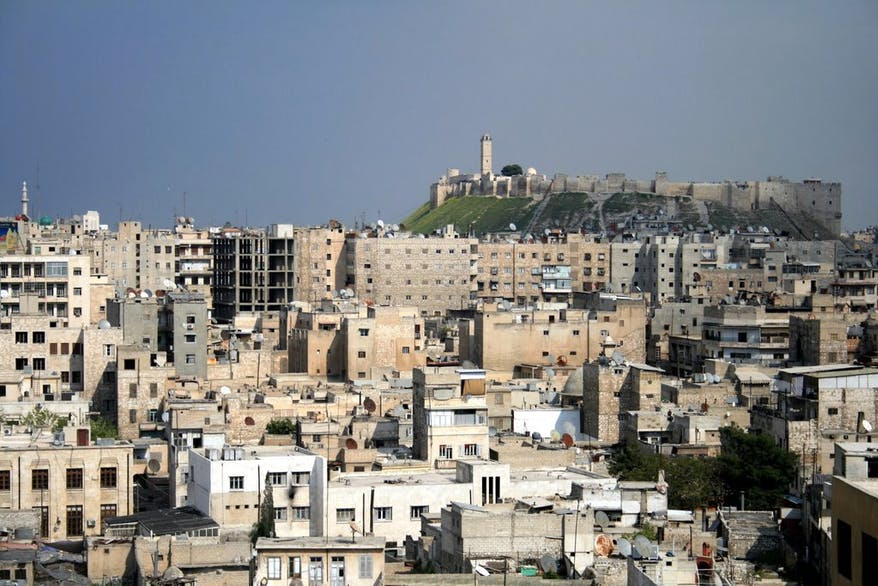 Aleppo in Syria made a huge impression on her