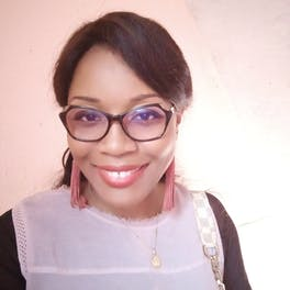 Dr Danielle Beleho is an ophthalmologist in Yaoundé, Cameroon