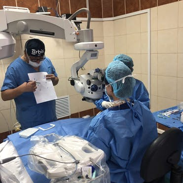 Cataract removal surgery in Peru