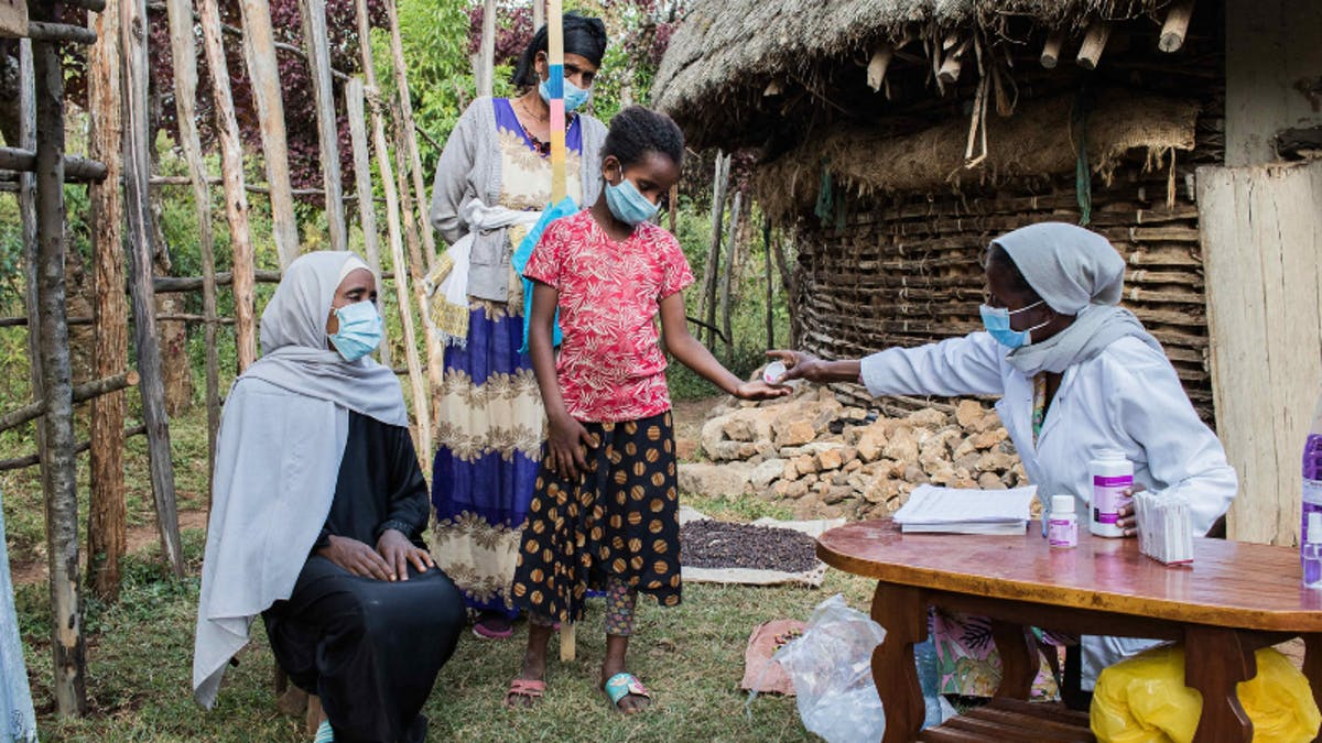 Orbis teams are fighting trachoma in Ethiopia
