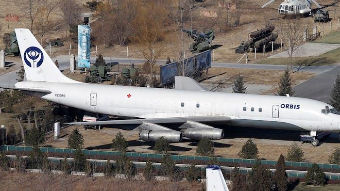Orbis Flying Eye Hospital DC-8 Aircraft