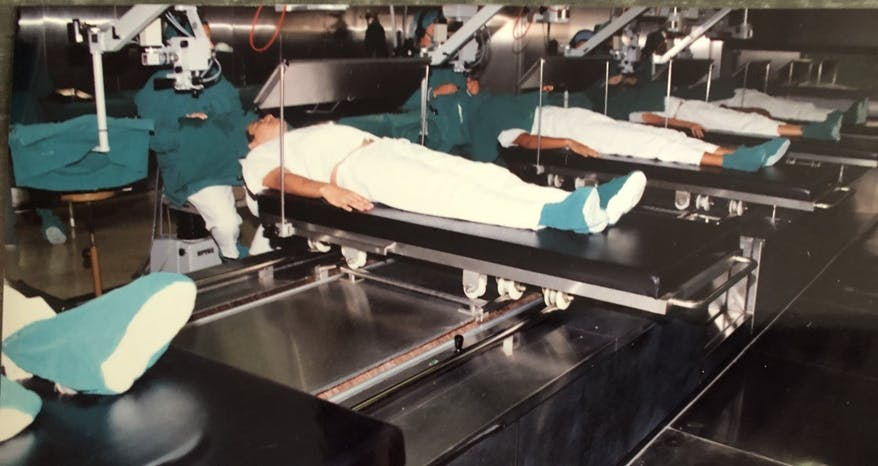 Former Director of External Affairs Holly Peppe Interview: Conveyor Belt Surgery In Havana, Cuba in 1991