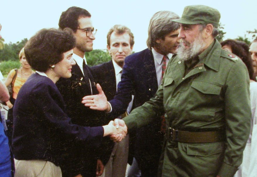 Former Orbis Director of External Affairs Holly Peppe interview: Meeting Cuba's Fidel Castro in Havana 1991