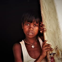 The initiative will give children like Shivjee (pictured) a much brighter future
