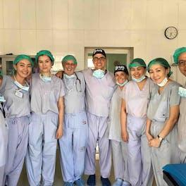 Dr. Shamsiya Murat, hands on surgeon trainee on multiple FEH and HBT Orbis programs in Mongolia