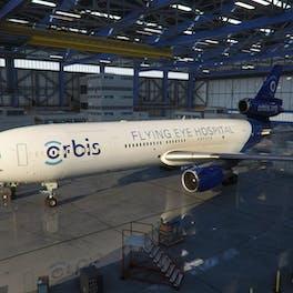 Orbis has partnered with Microsoft Flight Simulator