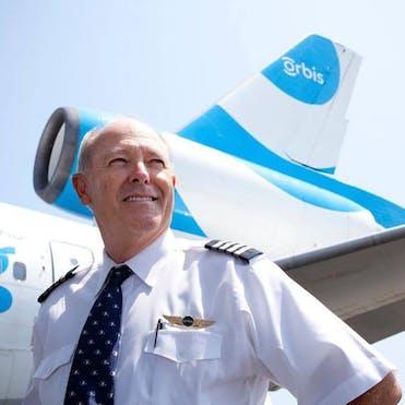 Flying Eye Hospital Pilot Captain Gary Dyson
