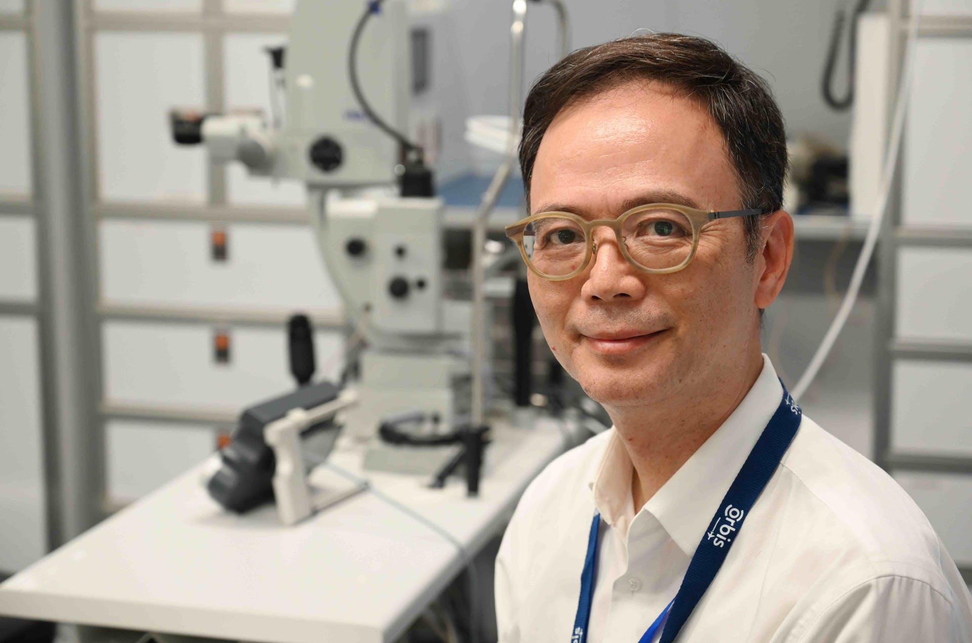 Orbis Flying Eye Hospital Volunteer Faculty Dr. Wai Ching Lam was impressed with the enthusiasm of local partners in Vietnam
