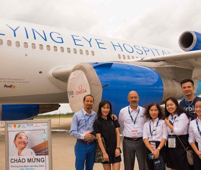 Orbis Flying Eye Hospital project opening ceremony in Vietnam
