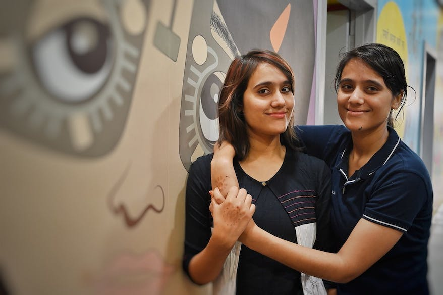 Chhaya and Chhavi Tiwary are twin sisters and optometrists breaking gender barriers and saving sight in India