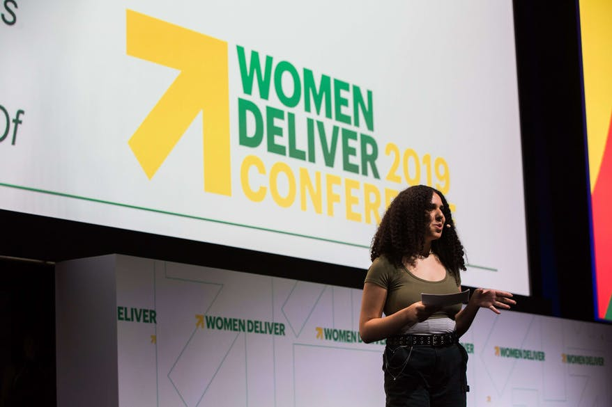 Women Deliver shared the importance of listening to younger voices