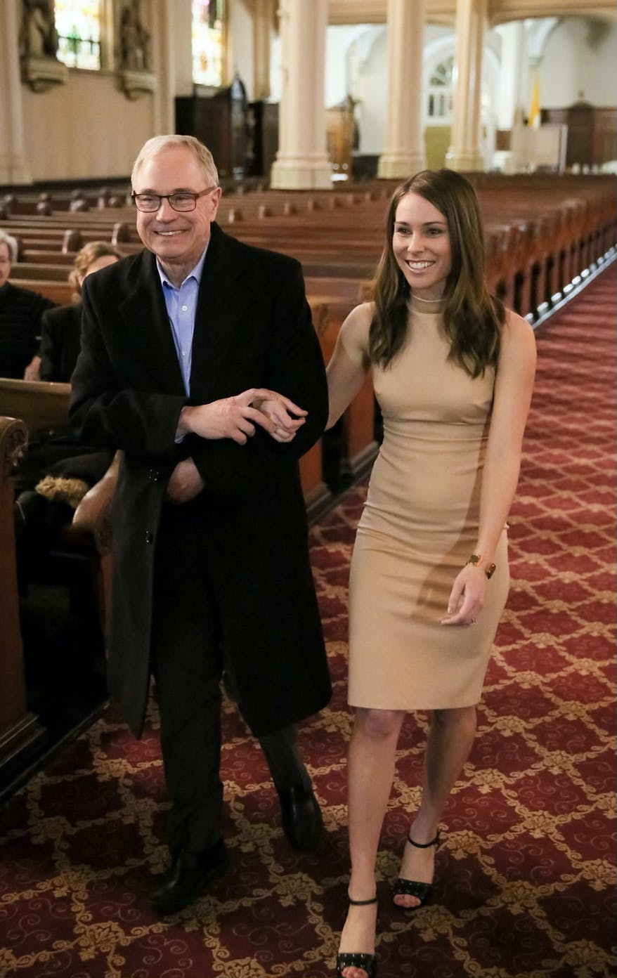 Dr. Rudy Wagner and his daughter Christine